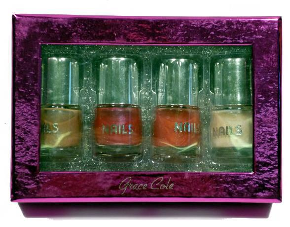coffret de 4 vernis ongles grace cole. Black Bedroom Furniture Sets. Home Design Ideas